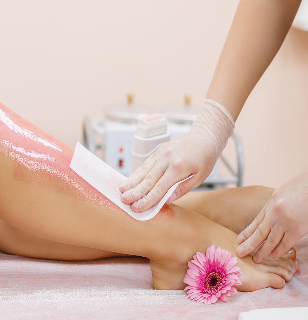 hladna depilacija nogu